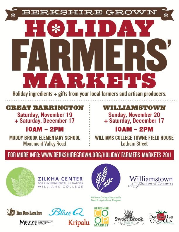 Holiday Farmers Markets 2011