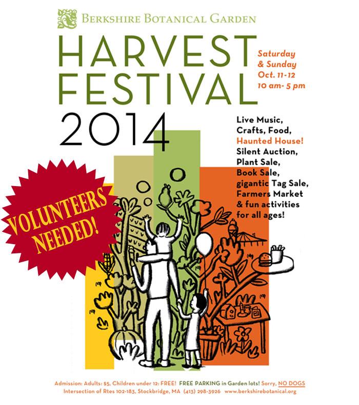 Berkshire Botanical Garden Harvest Festival 2014