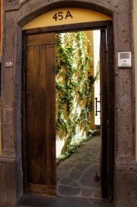 Casa Miel entrance