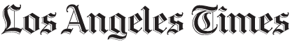 L.A. TIMES, logo