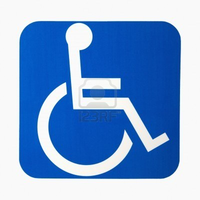Handicap access logo