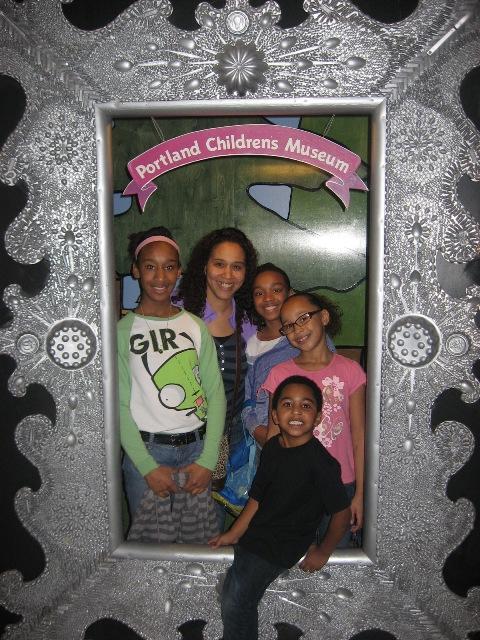 kids at PCM in frame