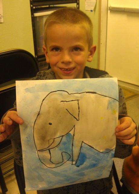 boy w elephant