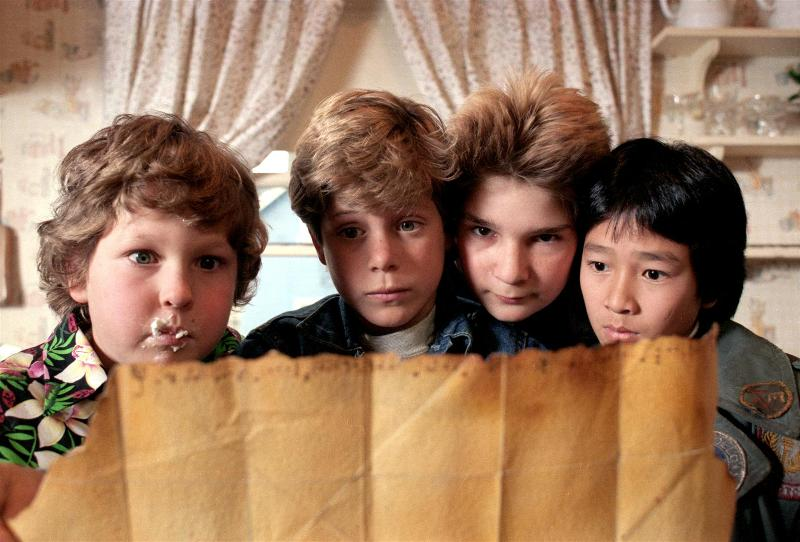 goonies screenshot map
