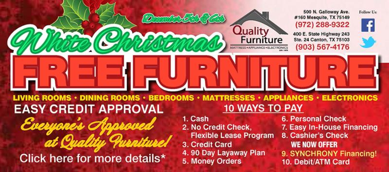 See Store For More Details, Or Call 972.288.9322/903.567.4176