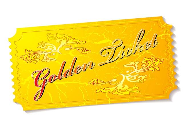 Real Estate Golden Ticket