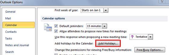 holiday calendar 2