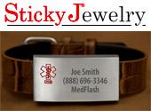 StickyJ USB Bracelet