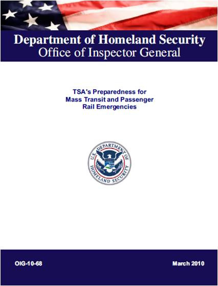 DHS OIG TSA Report