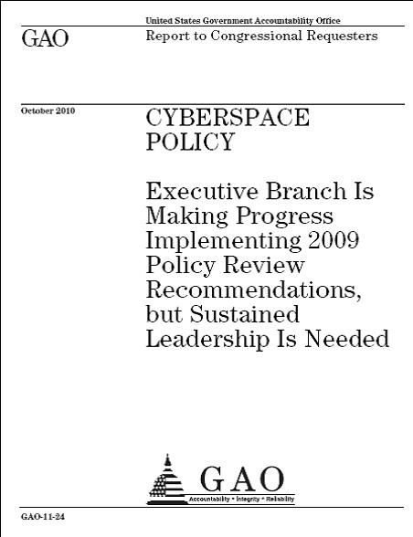 GAO Cyber report