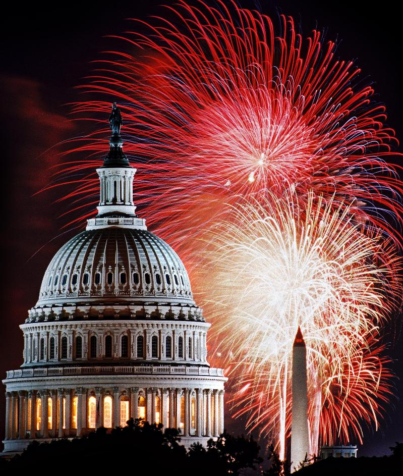 Fireworks in DC