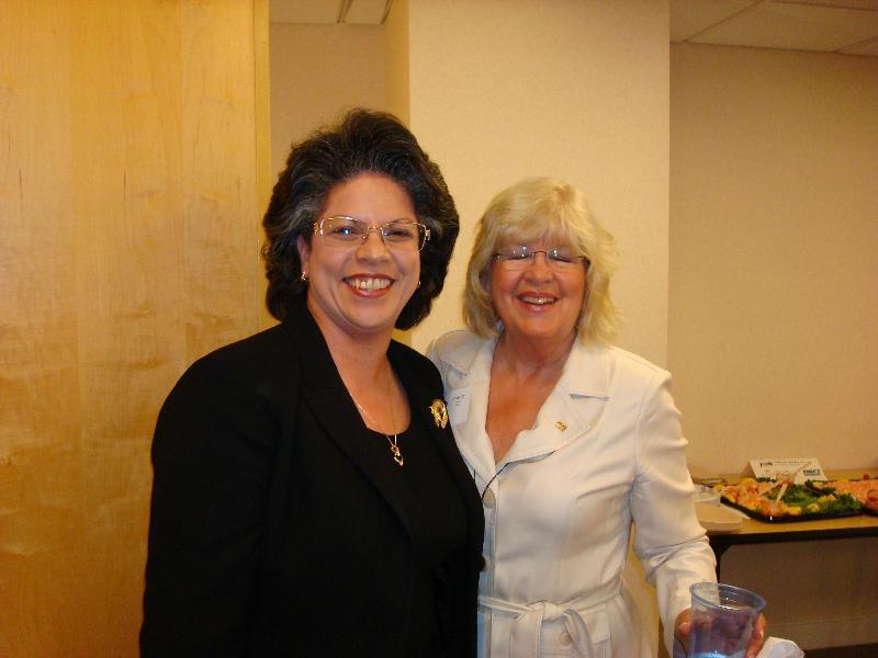 Sorqya Correa & Nancy Peters from CACI