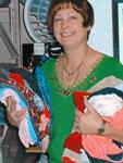 GRACE Clothing Room volunteer, Valerie Reed