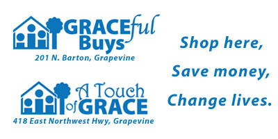 GRACEful Buys and A Touch of GRACE - Shop here, Save money, Change lives.