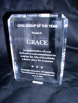 The Civic Group of the Year Award given to GRACE