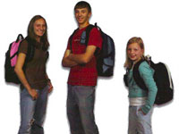We need back packs!