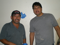 Carlos Rodriguez and Jorge Mireles