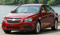 The 2011 Chevy Cruze