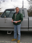 "A GRACE Client poses with his ""new"" truck!"