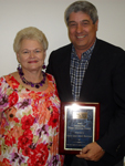 Idell and Gary Bowker were honored as 2010  Outstanding Older Americans