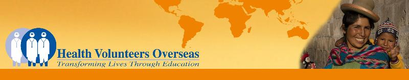 Health Volunteers Overseas Header