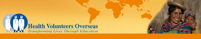 Health Volunteers Overseas Header