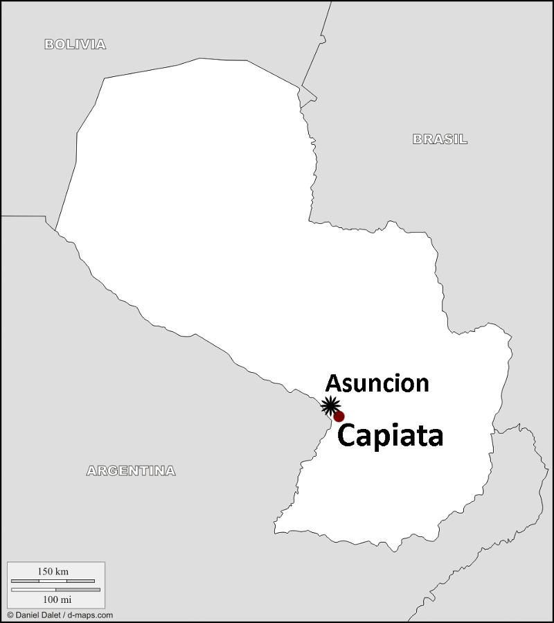 HVO Launches Oncology Program In Paraguay - Where is asuncion
