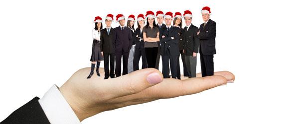 Christmas People on Hand