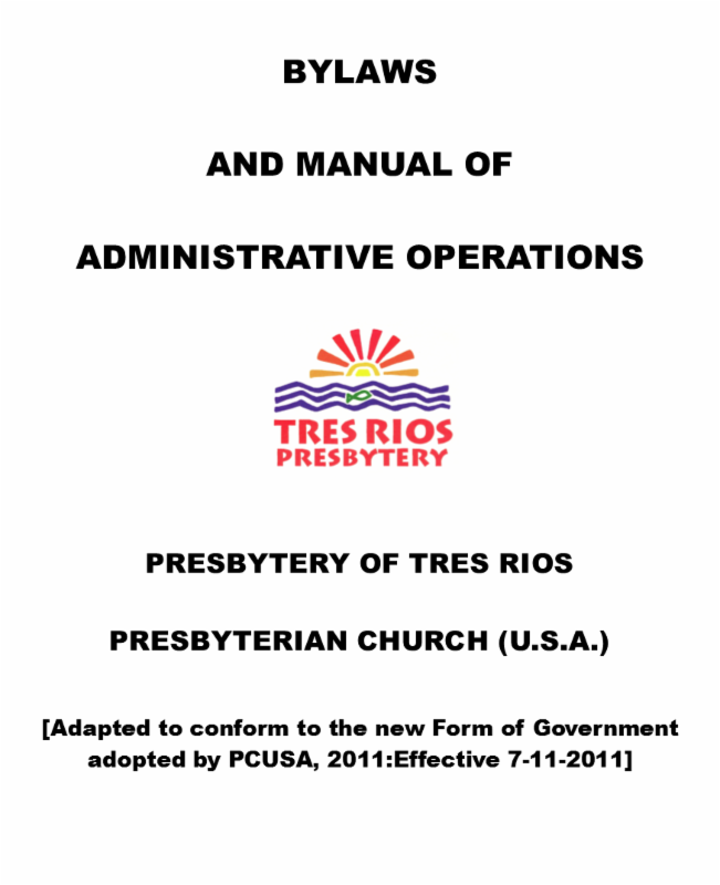 News from The Presbytery of Tres Rios
