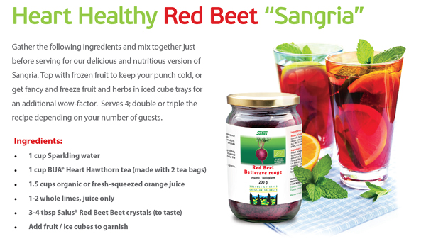 Heart Healthy Red Beet