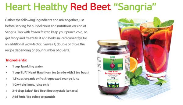 Heart Healthy Red Beet
