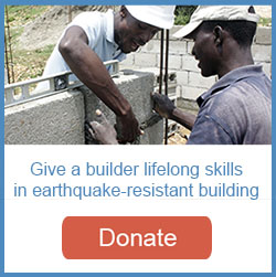 Give a builder lifelong skills in earthquake-resistant building