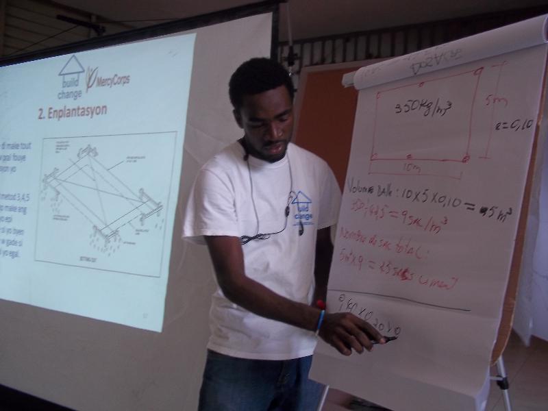 Build Change Haiti Trainer - Thony Saincius