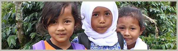 Indonesian schoolkids