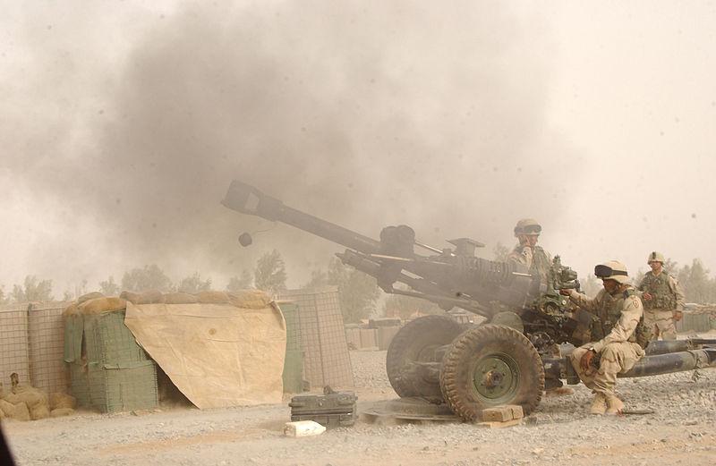 M119 Firing