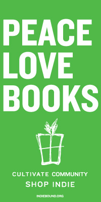 Peace love books green