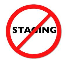 no staging