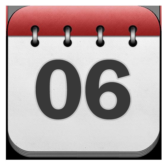 Newsletter Calendar Icon