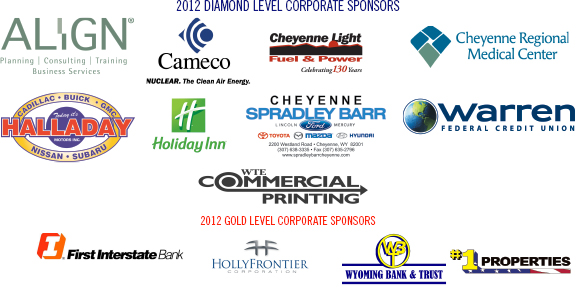 2012 Diamond/Gold sponsors