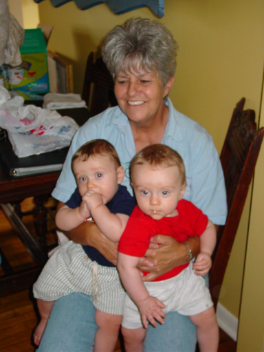 Mom and the twins