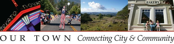 City of Novato Our Town Masthead