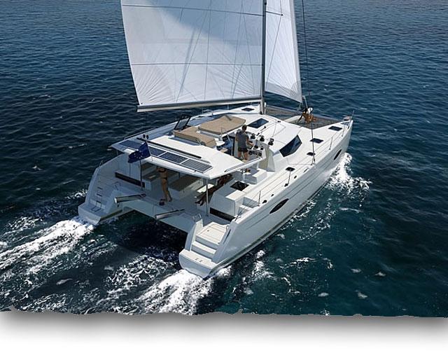 Helia Under Sail
