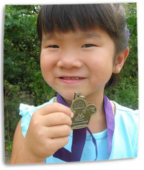Marathon kids running club