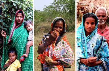Three of the new landowning families in Odisha