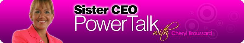 Sister CEO Powertalk banner
