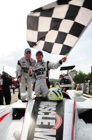 Victory at Lime Rock