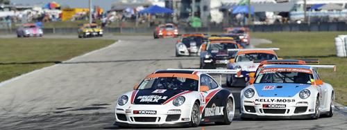 Racing at Sebring - GT3
