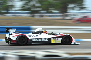 Mike Guasch on track in Sebring Winter Test