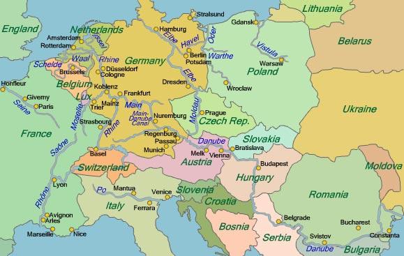 Europes Rivers  River Cruising