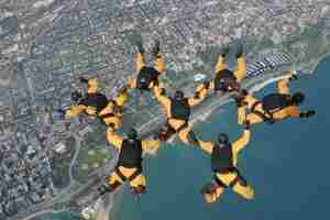 Golden Knights jump team